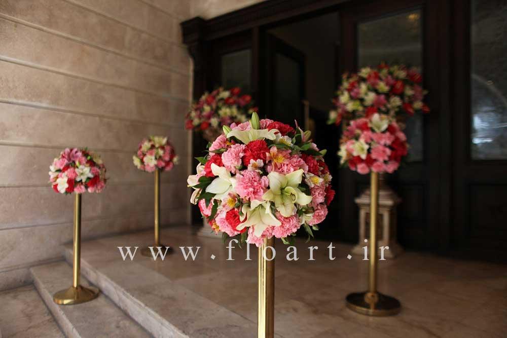 ایده هایی جالب برای گل آرایی مراسم عروسی