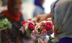 آموزش گل آرایی در مدرسه گل آرایی فلوآرت