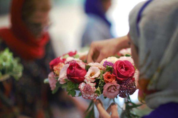آموزش گل آرایی