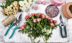 آشنایی با ابزار گل آرایی
