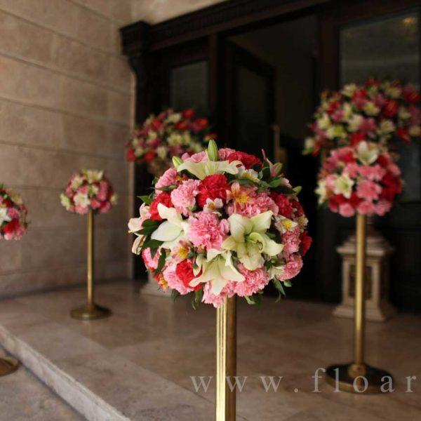 گل آرایی مجالس عروسی