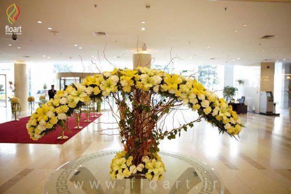 گل آرایی چشن ها
