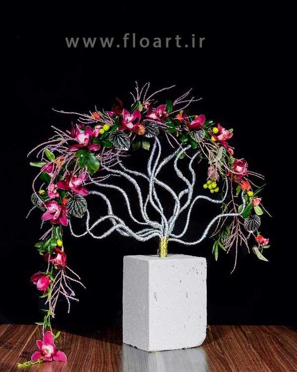 سومین سمینار بزرگ گل آرایی مدرسه گل آرایی فلوآرت