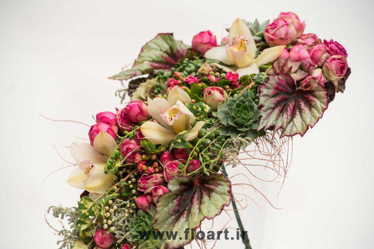آموزش پیچیدن دسته گل طبیعی زیبا و ساده