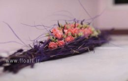 آموزش تزیین سبد گل طبیعی