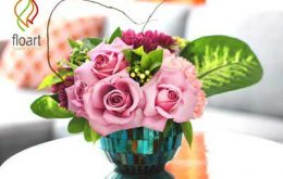 چگونه یک گل آرایی زیبا و کم هزینه برای روز ولنتاین داشته باشیم