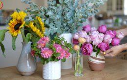 چگونه ماندگاری گل ها را بیشتر کنیم