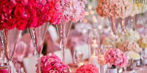 قشنگترین ایده های گل آرایی مراسم عروسی