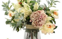 آموزش گل آرایی در شیشه
