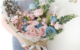 آموزش ساخت دسته گل روستیک
