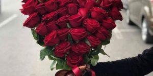 آموزش گل آرایی به شکل قلب مخصوص روز ولنتاین