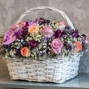 سفارش سبد گل (1)