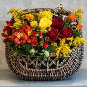 سفارش سبد گل (2)